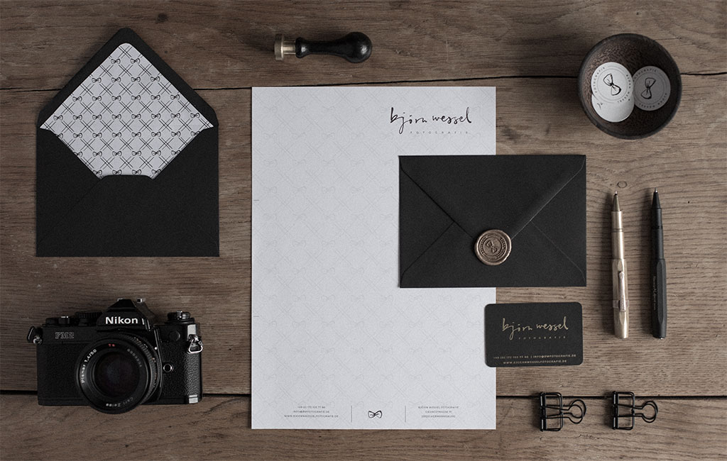 Logodesign and branding for Photographer Björn Wessel