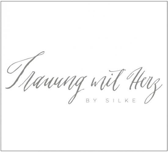 Logodesign und Branding für Trauung mit Herz