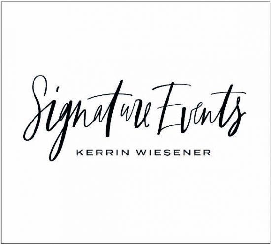 Logodesign und Branding für Signature Events, Kerrin Wiesener