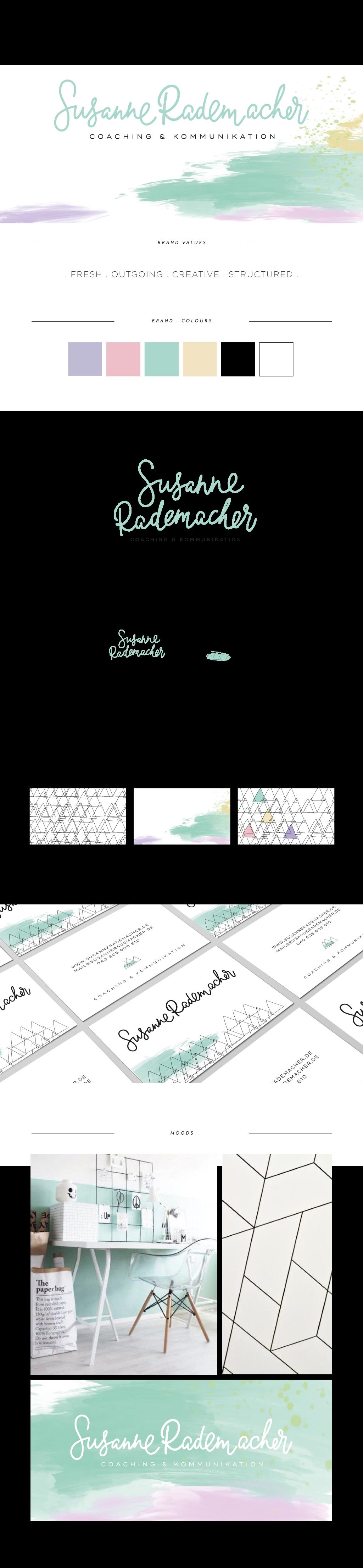 Logo Design And Branding For Susanne Rademacher Coaching