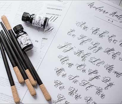 Workshopunterlagen moderne kalligrafie_nicnillas ink